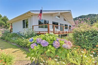 Yachats Single Family Home For Sale: 516 Bayview Terrace