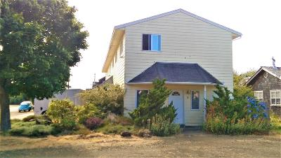 Waldport Multi Family Home For Sale: 180 NE Grant St #1, 2, 3,