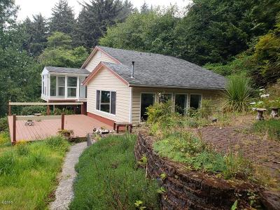 Yachats Single Family Home For Sale: 50 E Windy Way
