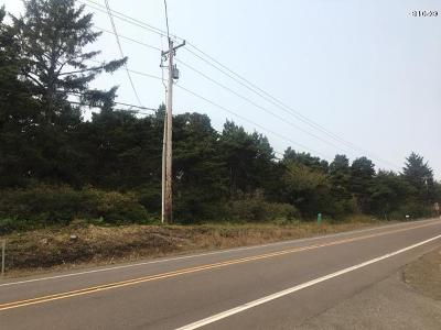 Depoe Bay, Gleneden Beach, Lincoln City, Newport, Otter Rock, Seal Rock, South Beach, Tidewater, Toledo, Waldport, Yachats Residential Lots & Land For Sale: TL 2500 NW Pacific Coast Hwy