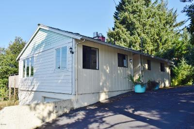 Newport Single Family Home For Sale: 1431 NE Yaquina Heights Dr