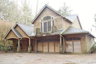 Neskowin Single Family Home For Sale: 46555 Hwy 101 S