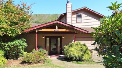 Waldport Single Family Home For Sale: 4587 E Alsea Hwy