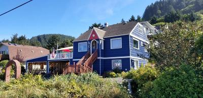 Yachats Single Family Home For Sale: 23 E 7th St