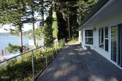 Single Family Home For Sale: 4616 Yaquina Bay Rd