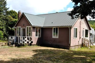Single Family Home Sold: 14152 Siletz Hwy