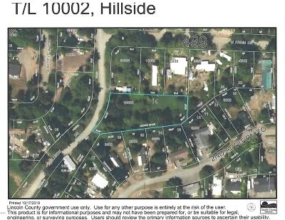 Neotsu, Otis, Rose Lodge Residential Lots & Land For Sale: T/L 10002 N Hillside Dr