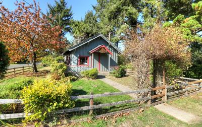 Gleneden Beach Single Family Home For Sale: 6805 Rhododendron Ave