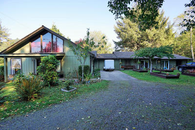 Yachats Single Family Home For Sale: 34 Us-101