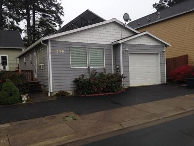 Lincoln City Single Family Home For Sale: 536 SE Neptune Ave