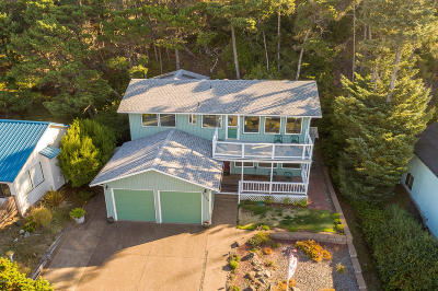 Waldport Single Family Home For Sale: 1709 NW Bayshore Dr