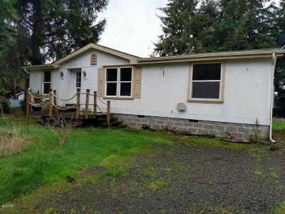 Waldport OR Mobile/Manufactured For Sale: $195,000