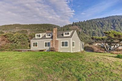 Yachats Single Family Home For Sale: 95514 Highway 101 S