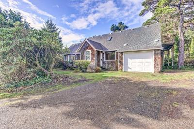 Yachats Single Family Home For Sale: 6149 Highway 101 N