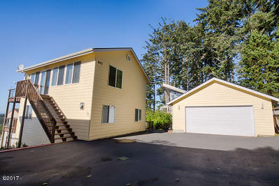 Yachats Single Family Home For Sale: 447 King St