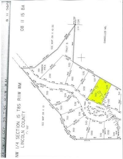 Gleneden Beach Residential Lots & Land For Sale: 539 Fairway Dr