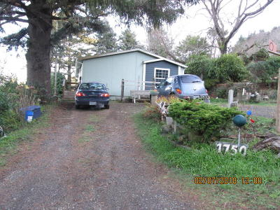 Depoe Bay, Gleneden Beach, Lincoln City, Newport, Otter Rock, Seal Rock, South Beach, Tidewater, Toledo, Waldport, Yachats Mobile/Manufactured For Sale: 1750 Hwy 101 N