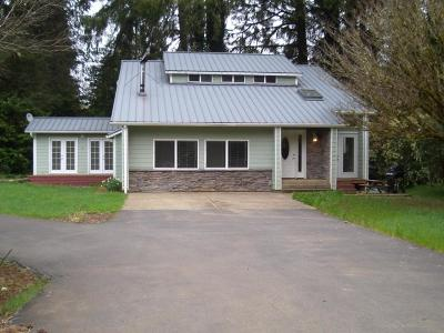 Siletz Single Family Home For Sale: 24254 Siletz Hwy