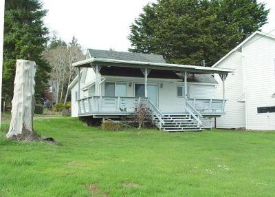 Lincoln City Single Family Home For Sale: 901 NE Lake Dr