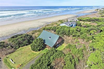 Yachats Single Family Home For Sale: 4845 Hwy 101 N