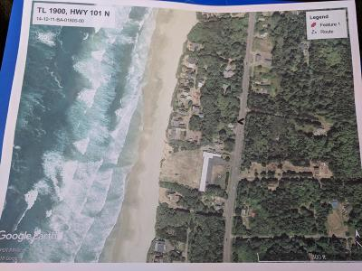 Depoe Bay, Gleneden Beach, Lincoln City, Newport, Otter Rock, Seal Rock, South Beach, Tidewater, Toledo, Waldport, Yachats Residential Lots & Land For Sale: TL 1900 Hwy 101 N