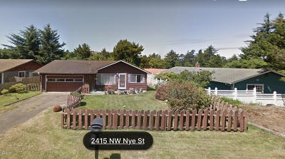 Newport Single Family Home Pending - Contingencies: 2415 NW Nye