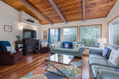 Yachats Single Family Home For Sale: 110 NW Lois Ln