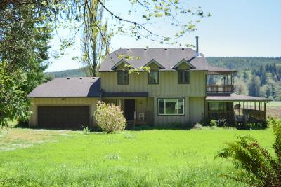 Single Family Home For Sale: 16857 Siletz Hwy