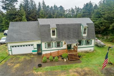 Waldport Single Family Home Pending - Contingencies: 535 SW Wakonda Beach Rd