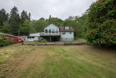 Single Family Home For Sale: 4404 Siletz Hwy