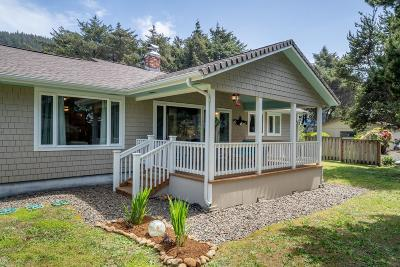 Yachats Single Family Home Pending - Contingencies: 488 Coolidge Ln