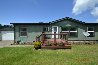 Waldport Single Family Home For Sale: 550 SE Moffitt Rd
