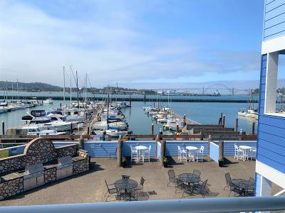 Depoe Bay, Gleneden Beach, Lincoln City, Newport, Otter Rock, Seal Rock, South Beach, Tidewater, Toledo, Waldport, Yachats Condo/Townhouse For Sale: 890 SE Bay Blvd #215