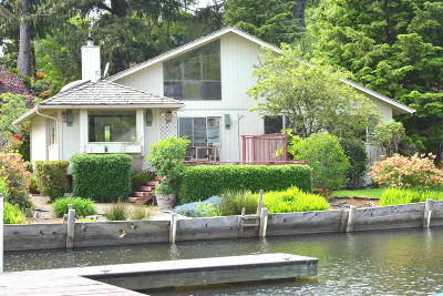 Lincoln City Single Family Home For Sale: 1160 NE West Lagoon Dr
