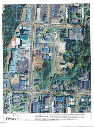 Commercial Lots & Land For Sale: 654 NW Coast St