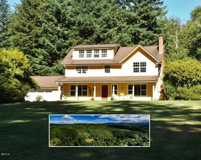 Yachats Single Family Home For Sale: 9466 Yachats River Rd
