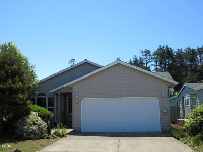 Depoe Bay, Gleneden Beach, Lincoln City, Newport, Otter Rock, Seal Rock, South Beach, Tidewater, Toledo, Waldport, Yachats Single Family Home For Sale: 131 NW 57th St