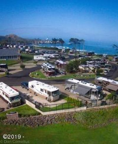 Depoe Bay, Gleneden Beach, Lincoln City, Newport, Otter Rock, Seal Rock, South Beach, Tidewater, Toledo, Waldport, Yachats Residential Lots & Land For Sale: 6225 N. Coast Hwy Lot 113