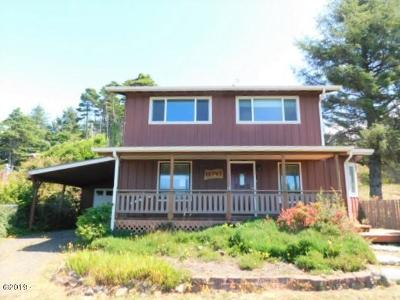 Depoe Bay, Gleneden Beach, Lincoln City, Newport, Otter Rock, Seal Rock, South Beach, Tidewater, Toledo, Waldport, Yachats Single Family Home For Sale: 10747 NW Crane St