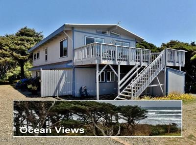Yachats Multi Family Home For Sale: 5727 Hwy 101 N