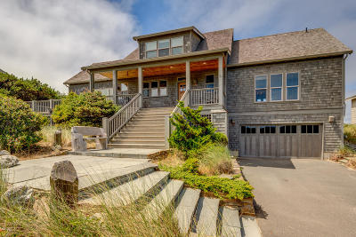 Gleneden Beach Single Family Home For Sale: 325 Salishan Dr
