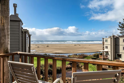 Depoe Bay, Gleneden Beach, Lincoln City, Newport, Otter Rock, Seal Rock, South Beach, Tidewater, Toledo, Waldport, Yachats Condo/Townhouse For Sale: 3641 NW Oceanview Dr #119