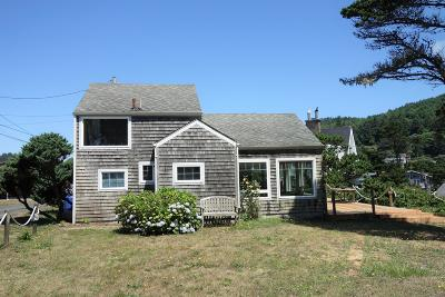Depoe Bay Single Family Home For Sale: 230 NW Sunset St