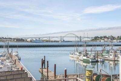 Depoe Bay, Gleneden Beach, Lincoln City, Newport, Otter Rock, Seal Rock, South Beach, Tidewater, Toledo, Waldport, Yachats Condo/Townhouse For Sale: 890 SE Bay Blvd #218