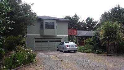Depoe Bay Single Family Home For Sale: 205 Tillicum St