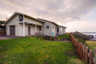 Yachats Single Family Home For Sale: 811 Ocean View Dr
