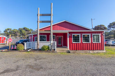 Seal Rock Commercial For Sale: 10181 NW Pacific Coast Hwy