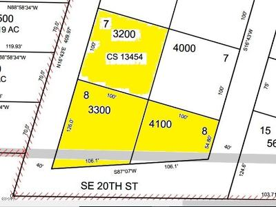 Residential Lots & Land For Sale: TL 3200+ 2 SE Oar & SE 20th
