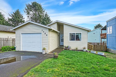 Lincoln City OR Single Family Home Sold: $245,000