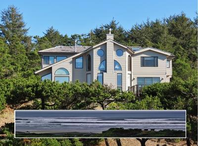 Waldport Single Family Home For Sale: 3840 NW Hidden Lake Dr